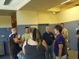 Citizens Leadership Academy and the guide from the Lied Animal  Shelter