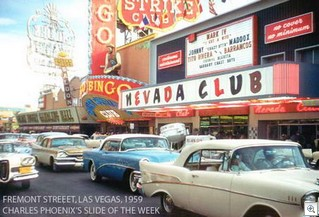 Fremont street in the 50's