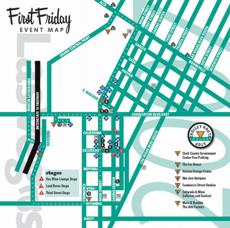 First Friday Las Vegas Map.Uncle Jack S Very Vintage Vegas Mid Century Modern Homes Historic