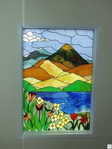 Spring Time At Lake Mead - Stained Glass in Liberace Townhome