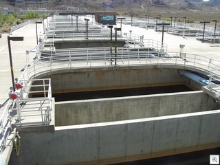 River Mountain Filtration Tanks