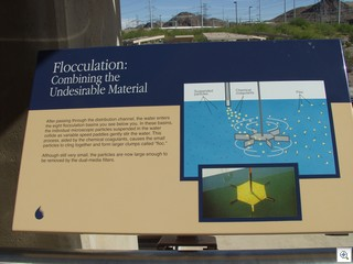 River Mountain Flocculation-The big word of the day!