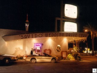 Garden of love wedding chapel on Las Vegas Boulevard