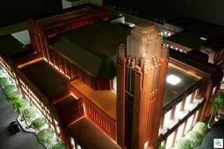 Scale Model Of Smith Center For The Performing Arts in Downtown Las Vegas