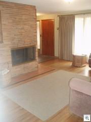 Susan's stone fireplace