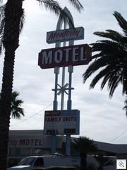 Monterey Motel Mid Mod Sign