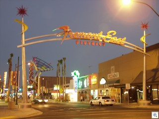 Fremont East Entertainment District In Downtown Las Vegas