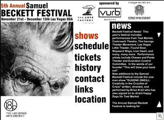 Samuel Becket Film Festival