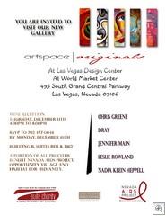 Artspace flyer