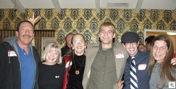 The Very Vintage Vegas Team (l-r) Jack LeVine, Susan Dean, Mary Alderman, Steve Christmas, Brian Paco Alvarez, and Pam Kowalski