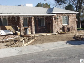 New Driveways and Landscaping on 8th Place