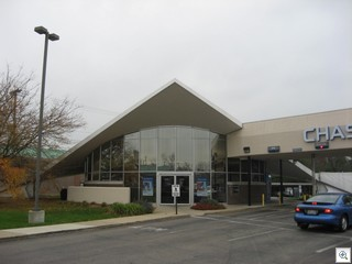 Reynoldsburg Spaceship Bank Building