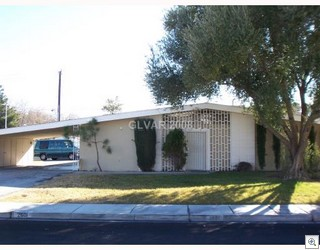 Mid Century Modern Home For Sale In The Historic McNeil Neighborhood Of Vintage Las Vegas