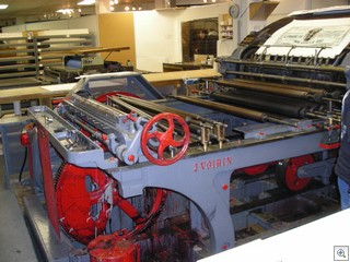 Lithograph Presses at S2 Gallery in Downtown Las Vegas Arts District