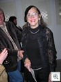 Mary Joy, The Very Vintage Vegas fashion editor, in  black and rhinestone.