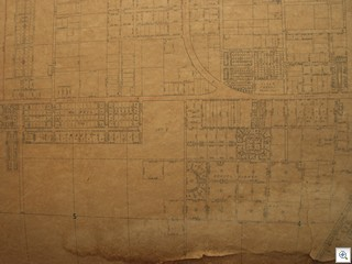 1951 Parcel Map of Las Vegas brought to you by Jack LeVine of Very Vintage Vegas