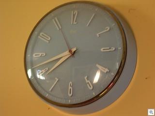 Retropro's RETRO pink 50's wall clock