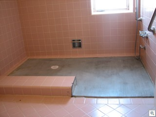 Converting a classic sunken tub into a handicap shower might be practical, but it didn't improve the value of the home.