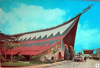 Postcard from Kahiki Supper Club in Columbus - circa 1965, from the collection of Tim