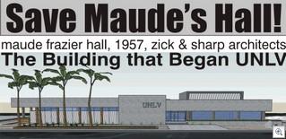 Maude Frazier Hall Rendition From VegasTodayAndTomorrow
