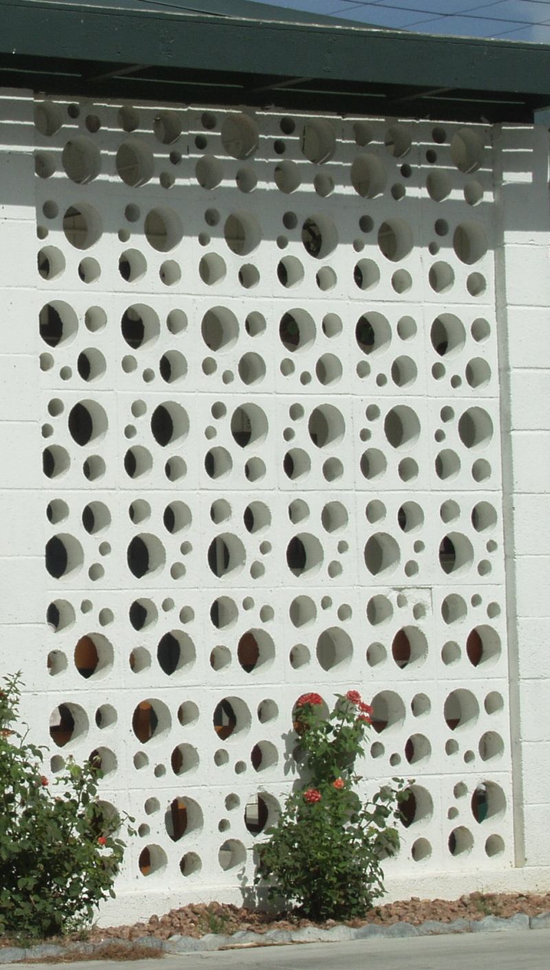 Decorative Cement Blocks : Uncle jack s very vintage vegas mid century modern homes