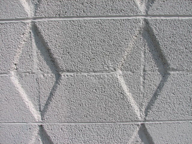 retro block walls adorn many of the mid century modern homes of las vegas - Decorative Concrete Block