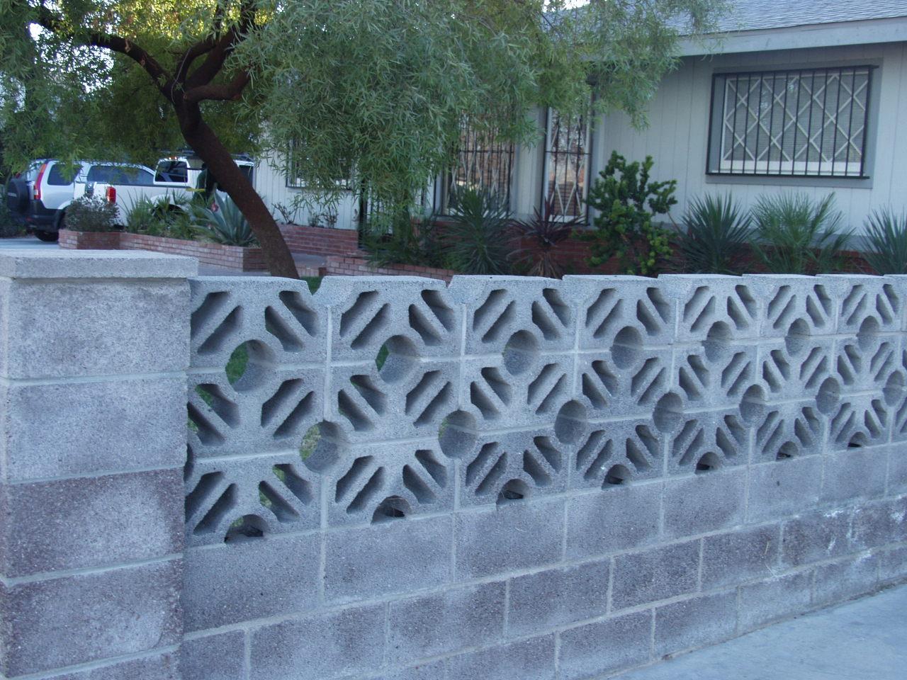 Decorative Concrete Block : Uncle jack s very vintage vegas mid century modern homes