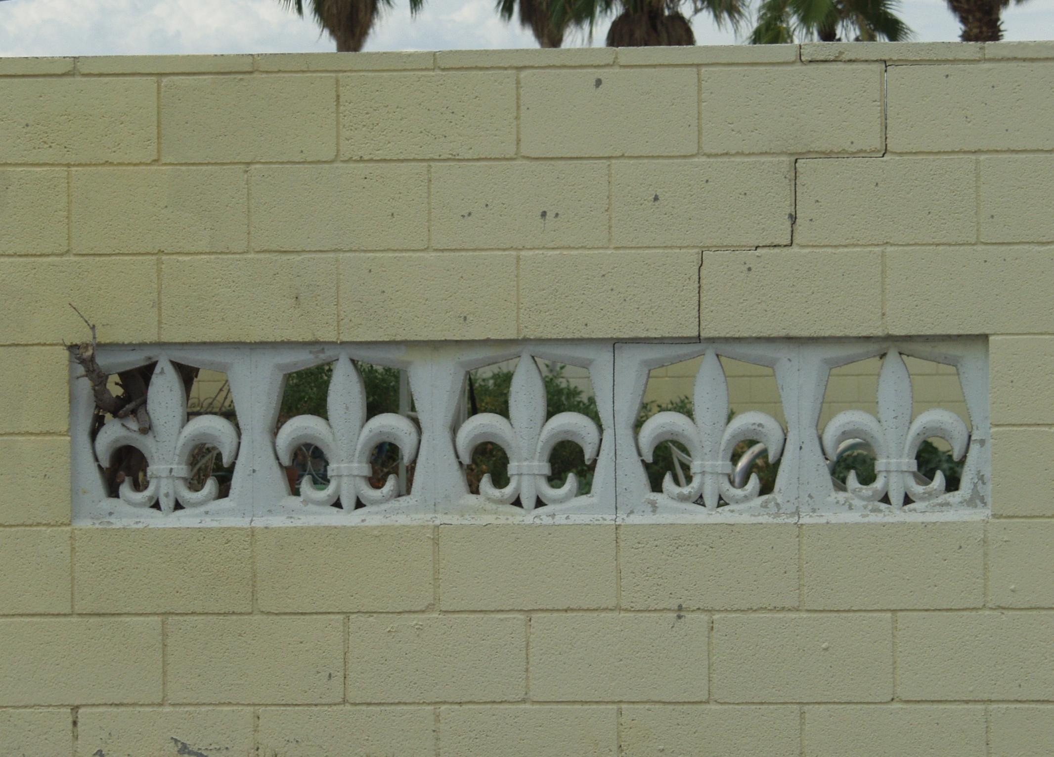 pics screen palms lowes outdoor paradise of cinder architecture the block decor decorative concrete
