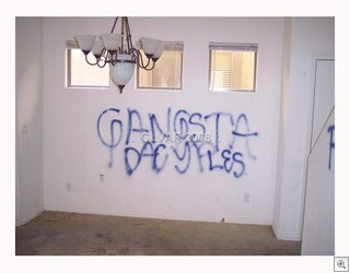 Gang Grafitti Does Not Help To Sell Homes In Las Vegas