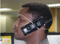 Hands free cell phones