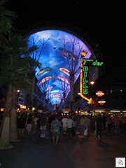 Fremont Street Experience in Downtown Las Vegas - The