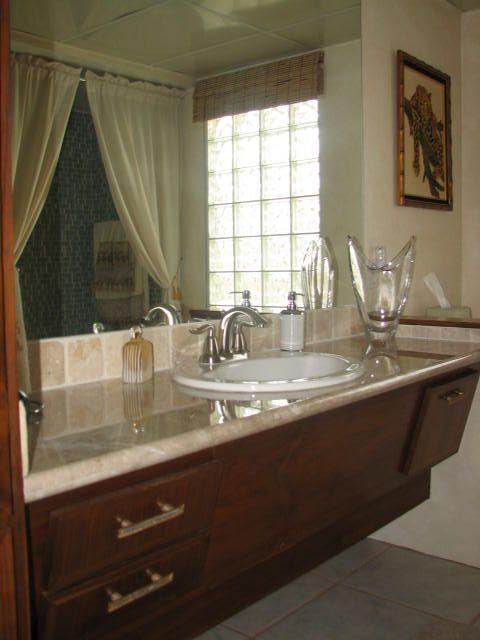 Uncle jack 39 s very vintage vegas mid century modern homes - Mid century modern double bathroom vanity ...