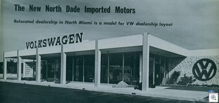 VW-ConcreteBlock-North Dade Imported Motors-Florida1963-64