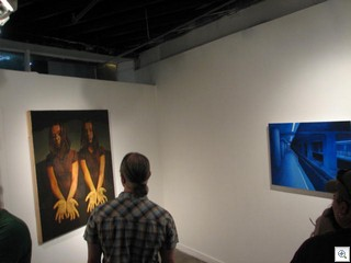 Painting Physical Presence at the Contemporary Arts Collective