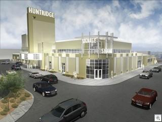 The Historic Huntridge Theatre In Las Vegas