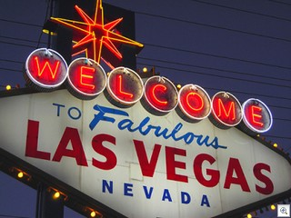 fabulous and famous Las Vegas sign