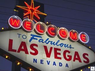 fabulous and famous Las Vegas sign