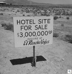 Hotel Site For Sale - El Rancho Vegas - Life Magazine Photo Collection hosted by Google
