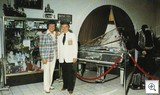 Liberace and George Liberace April 15 1979 Opening Color in Museum