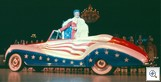 Liberace on Stage Red White Blue Rolls Royce