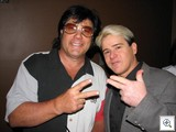 My brother Joe with Larry G. Brown who headlines with a cast of 1000's at the Royal Resort