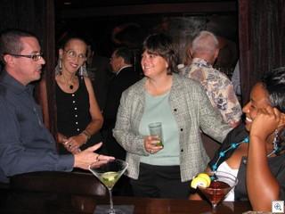 Brian Paco Alvarez, Mary Joy Alderman, Las Vegas City Manager Betsy Fretwell, and English Mack