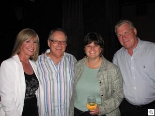 Susan and Art Ham, Betsy Fretwell, Mike Nolan