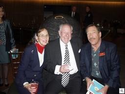 Mary Joy Alderman, Mayor Oscar Goodman, Jack LeVine