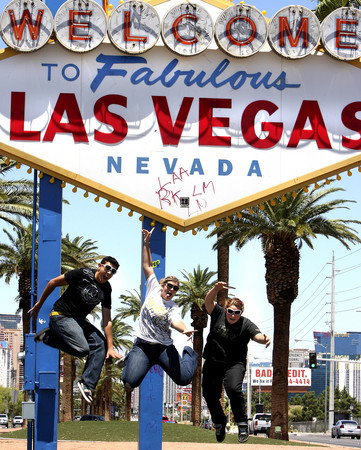 Welcome to Las Vegas sign - photo courtesy of Las Vegas Review Journal - John Gurzinski