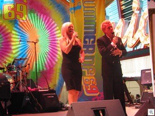Zowie Bowie, who perform at the Palms in Las Vegas also performed at Mayor Oscar Goodman's Birthday Party