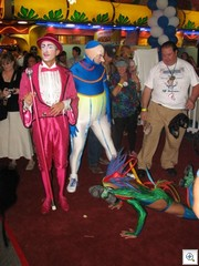 Cirque Du Soleil performers at Mayor Oscar Goodman's 70th Birthday Party