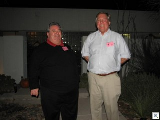 City Council candidate Steve Evans with State Assemblyman Tic Segerblom