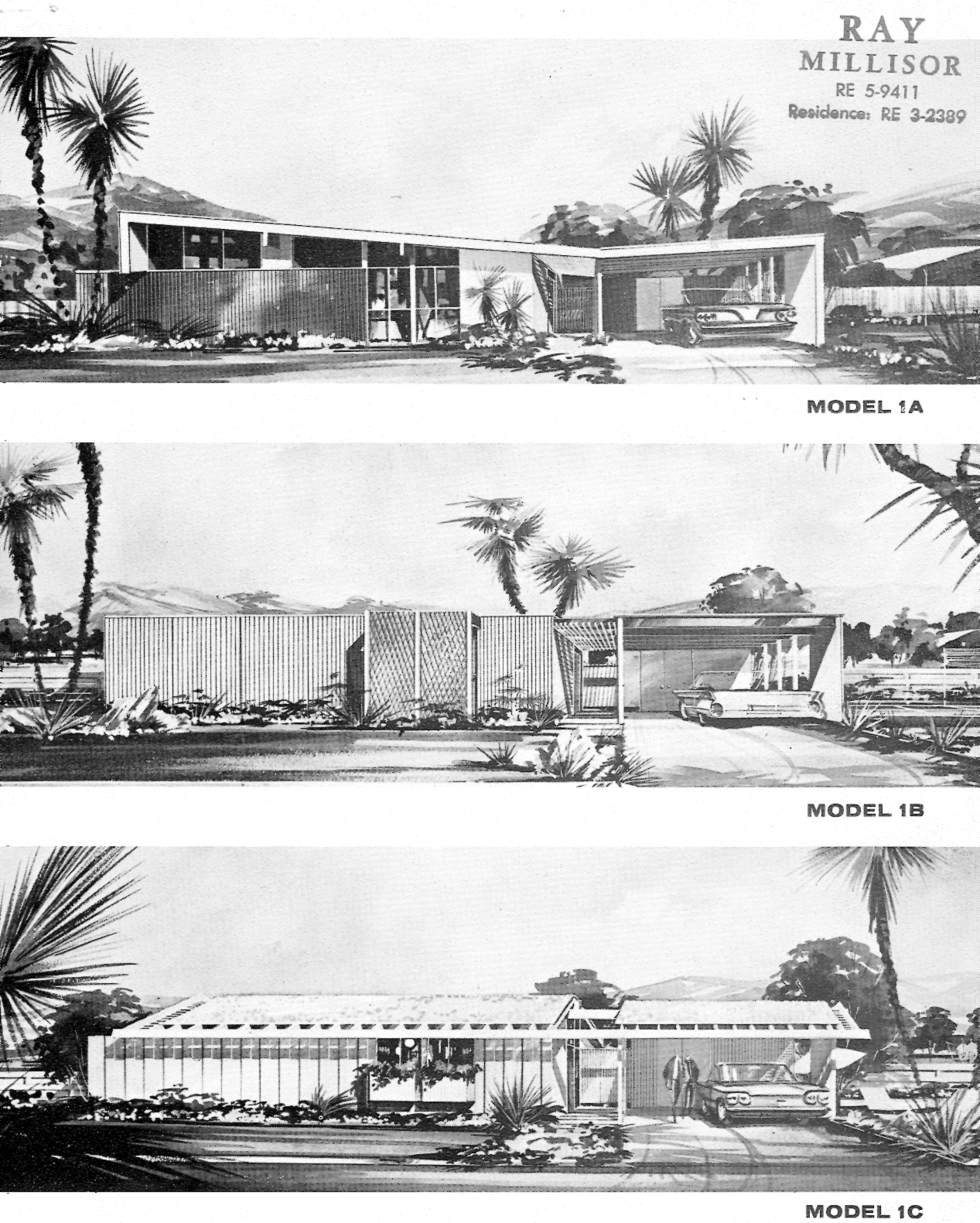 Picture of: Uncle Jack S Very Vintage Vegas Mid Century Modern Homes Historic Las Vegas Neighborhoods Las Vegas History And Urban Living By Jack Levine Throw Back Thursday The Paradise Palms Brochures