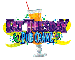 Fat Tuesday Pub Crawl - Fremont Street Experience - Downtown Las Vegas